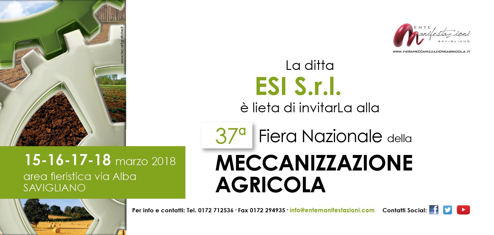 Invito EXPO_fiera MEC_2018 ESI
